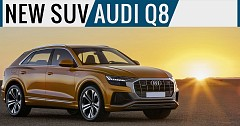 Brand-New SUV Audi Q8 Coupe Revealed