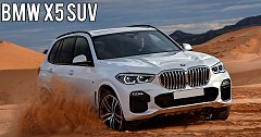 Latest Generation BMW X5 SUV Unveiled