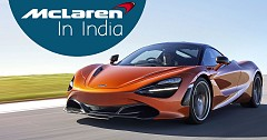 McLaren To Open First Outlet In India
