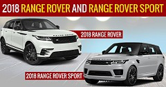 Range Rover, Range Rover Sport Facelifts To Introduce On 28 June