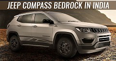 Jeep Compass Bedrock Introduced In India At Rs. 17.53 lakh