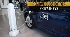 Govt Will Remove Subsidy For Private EVs In 2nd Phase Of FAME