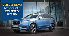 volvo XC90 introduced in new petrol hybrid variant at Rs. 96.65 lakh