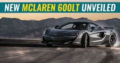 New McLaren 600LT Unveiled With Specs And Video