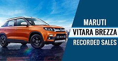 Maruti Vitara Brezza Recorded Fastest 3 Lakh Sales