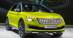 Skoda eRS Electric SUV To Unveil By 2022