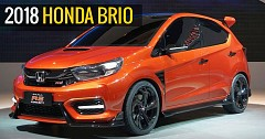 Second-Gen Honda Brio Is Likely To Reveal In August