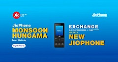 Jio Phone Available At Rs 501 Under Monsoon Exchange Offer