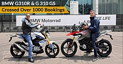 BMW G310 R, G 310 GS Roll Out with Stunts at Launch Event; Garners Over 1000 Bookings