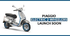 Piaggio Plans to Launch e-vehicles in India