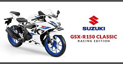 New Suzuki GSX-R150 Classic Racing Edition Revealed Ahead its Launch Next Month