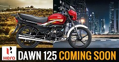 Hero Dawn 125 Expects a Launch by this Year End
