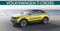 Volkswagen T-cross To Offer As Much As 1281 Litres Of Boot Space