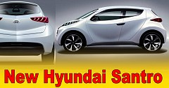 Official: Hyundai Santro (AH2 Hatchback) with AMT May See a Diwali Release