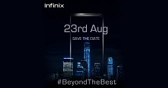 Infinix Set To Launch A New Smartphone in India on 23rd August