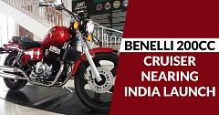 Benelli 200cc Cruiser Soon To Hit Bajaj Avenger