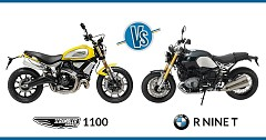 Comparison of Rivals: Ducati Scrambler 1100 vs BMW R nine T
