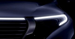 Mercedes Benz Electric Crossover Would Unveil on 4th September in Stockholm
