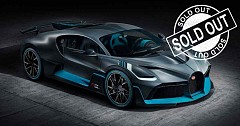Bugatti Divo Hypercar Limited 40 Units Sold Out