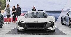 Audi's R8 E-Tron Electric Supercar Slated For 2022 Debut