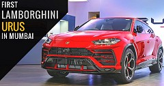 India Gets Its First Lamborghini Urus In Mumbai
