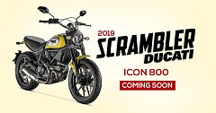 2019 Ducati Scrambler Icon 800 Unleashed with Improved Skin, Tech and Features