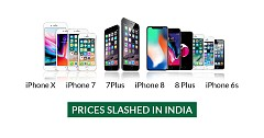 iPhone X, iPhone 7, 7Plus, iPhone 8, 8 Plus and iPhone 6s Prices Slashed in India