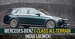 194hp, 2.0-litre BS-VI-compliant E-class All-Terrain Set For 28th September