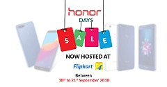 Honor Days Sale Now Hosted At Flipkart