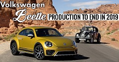 Volkswagen Beetle Final Edition Marks End of People's Car Era