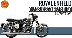 2018 Royal Enfield Classic 350 Rear Disc Variant Available on Sale with On-time Delivery