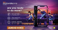 Motorola One Power Launched in India Featuring 5,000mAh Battery