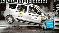 Renault Lodgy Falls Flat on the Global NCAP Crash Tests