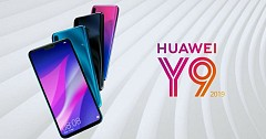 Huawei Y9 (2019) Goes Official Featuring Four Cameras
