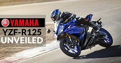 2019 Yamaha YZF-R125 Unveiled at the 2018 INTERMOT motorcycle show