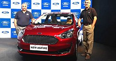 2018 Ford Aspire Launched To Rival Honda Amaze In Compact Sedan Segment