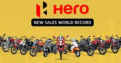 Hero MotoCorp Sets World Record with Sales Over 7 Lakh in September 2018