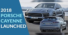 2018 Porsche Cayenne Base and e-Hybrid Gets Launched Starting With 1.19 Crore