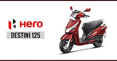 Hero Destini 125 Coming Soon- What would a Buyer Get