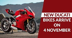 3 New Ducati Bikes Expected to Arrive on 4 November