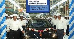 Tata Tigor Creates A Milestone At Sanand Facility