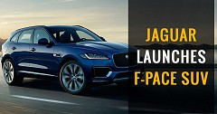 Jaguar launches F-Pace SUV at ₹ 63.17 lakh
