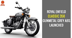 Royal Enfield Classic 350 Gunmetal Grey Variant Gets Dual Channel ABS