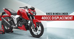 Top 5 Worth the Money Bikes in India Under 400cc Engine Displacement