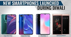 New Smartphones Launched During Diwali: Oppo RX17 Pro, RX17 Neo, Vivo X21s and Samsung W2019 Flip Phone