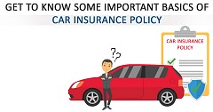 Get To Know Some Important Basics of Car Insurance Policy