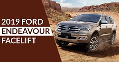 2019 Ford Endeavour Facelift Getting Ready for India