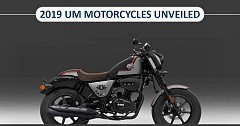 UM Motorcycles Unveiled Product Lineup for 2019 Model Year