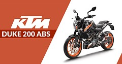 KTM Duke 200 ABS Introduced in Indian Lineup at INR 1.6 Lakh