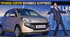 Hyundai Santro bookings suspended owing to limited production